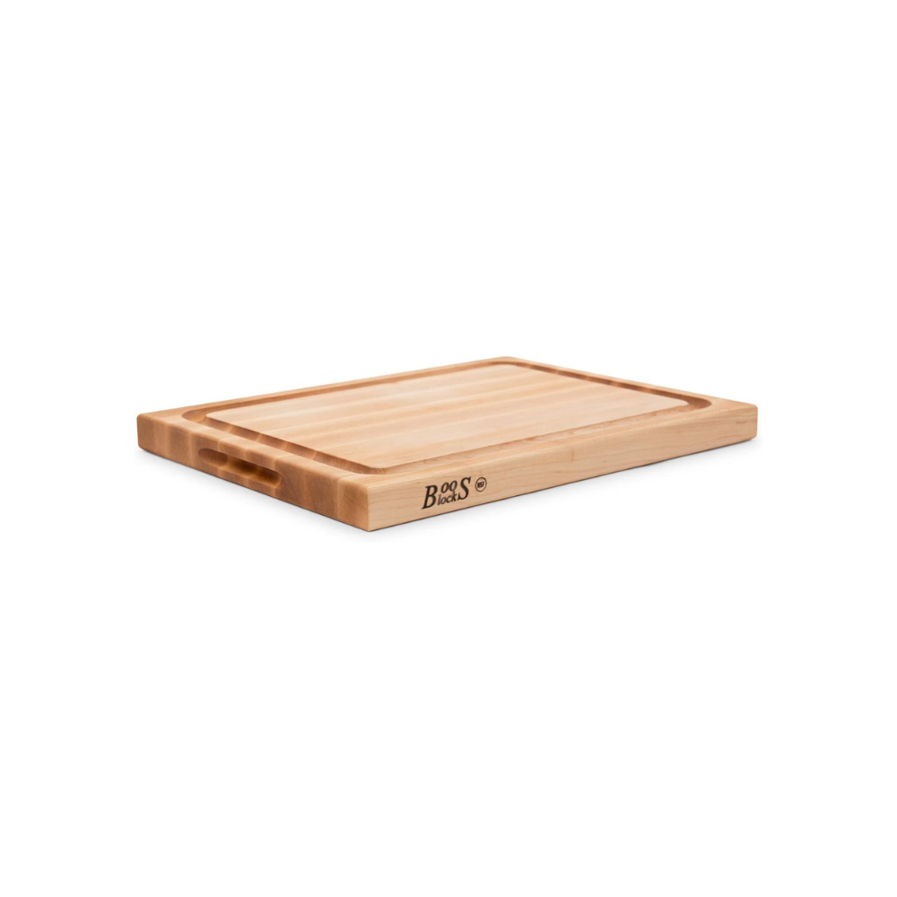 BOOS BLOCK CB1054-1M2015150 CUTTING BOARD MAPLE WITH JUICE GROOVE 51 CM x 38 CM | BBQs NZ | John Boos & Co. NZ | Accessories, Cutting Board | Outdoor Concepts