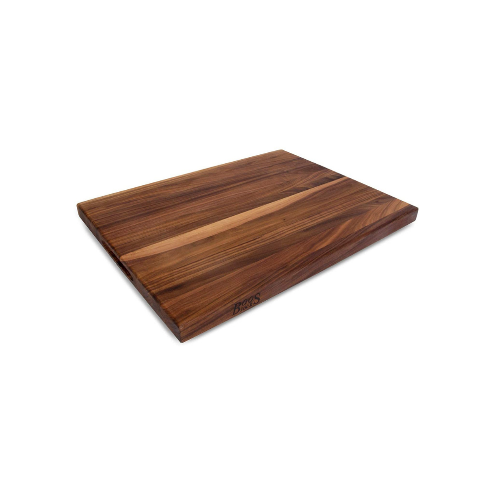 BOOS BLOCK WAL-R02 WALNUT WOOD EDGE GRAIN REVERSIBLE CUTTING BOARD 61 CM X 46 CM | BBQs NZ | John Boos & Co. NZ | Accessories, Cutting Board | Outdoor Concepts