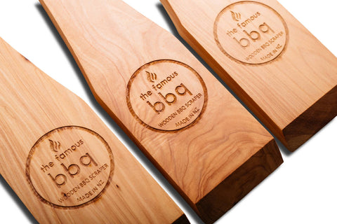 THE FAMOUS BBQ WOODEN BBQ SCRAPER | BBQs NZ | The Famous BBQ NZ | Accessories, BBQ Tools | Outdoor Concepts