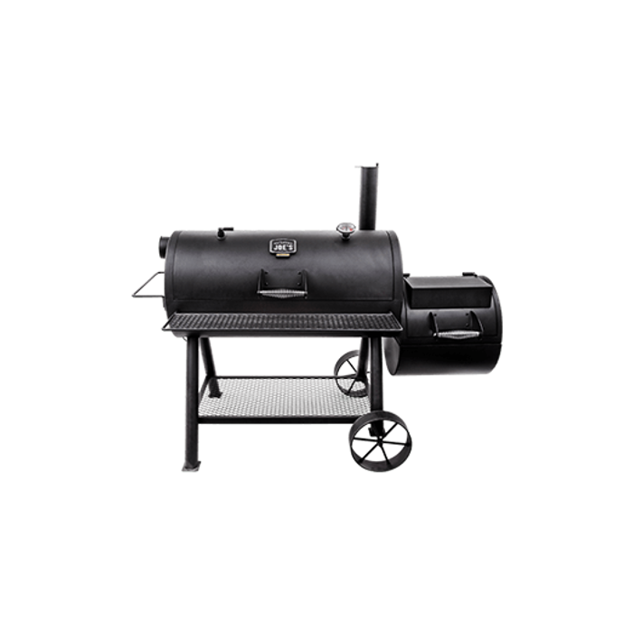 OKLAHOMA JOE'S LONGHORN REVERSE FLOW SMOKER | BBQs NZ | Oklahoma Joe's | Outdoor Concepts NZ