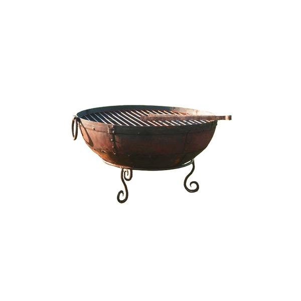 update alt-text with template KADAI 80CM FIRE BOWL (INCL 2 STANDS) | Outdoor Fires NZ | Kadai NZ | outdoor wood | Outdoor Concepts NZ
