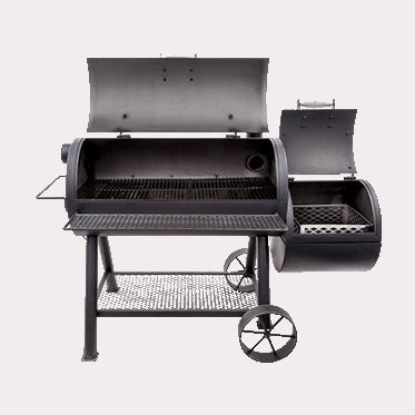 OKLAHOMA JOE'S LONGHORN REVERSE FLOW SMOKER BBQ | BBQs NZ | Oklahoma Joe's NZ | Smokers | Outdoor Concepts
