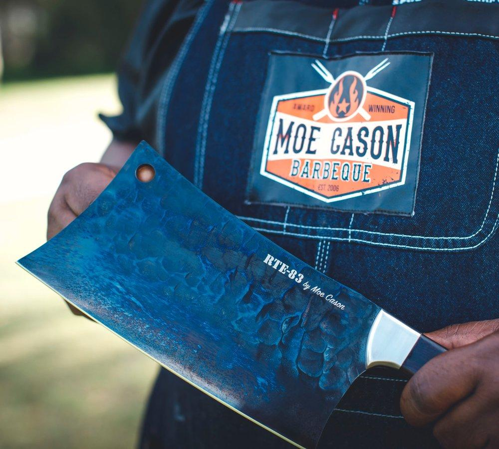 update alt-text with template Route83 Moe Cason Meat Cleaver | BBQs NZ | Route83 NZ | Accessories, Knives | Outdoor Concepts NZ