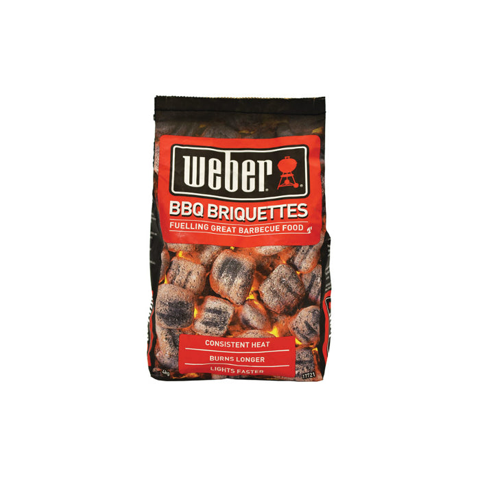 Weber BBQ Briquettes 4kg | BBQs NZ | Charcoals NZ | Fuels | Outdoor Concepts