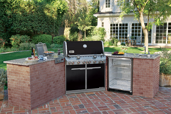 WEBER SUMMIT E-660 BUILT-IN | BBQs NZ | Weber NZ | Built-in BBQs, Gas BBQ, Outdoor Kitchen | Outdoor Concepts