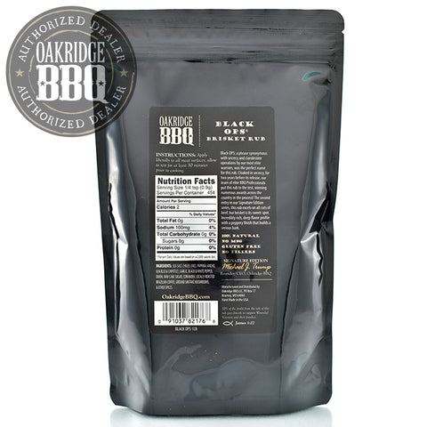 OAKRIDGE BBQ BLACK OPS BRISKET RUB | BBQs NZ | Rubs & Sauces | Outdoor Concepts NZ