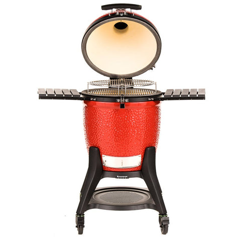 KAMADO JOE CLASSIC III GRILL RED | BBQs NZ | Kamado Joe NZ | Charcoal | Outdoor Concepts