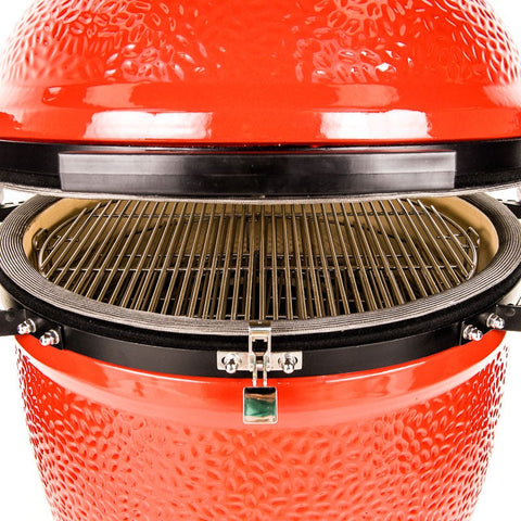 KAMADO JOE BIG JOE III GRILL RED | BBQs NZ | Kamado Joe NZ | Charcoal | Outdoor Concepts