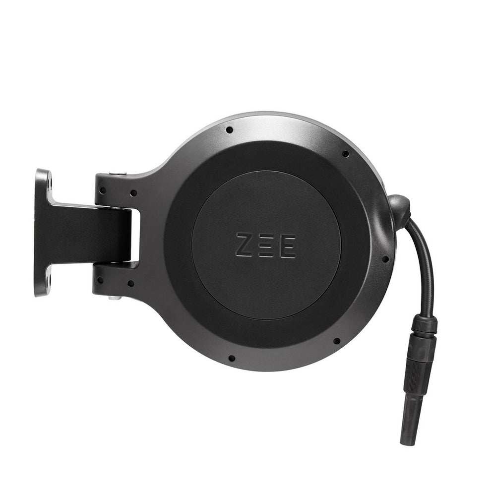 ZEE MIRTOON HOSE REEL 10M BLACK | Garden NZ | Zee Design | Outdoor Concepts NZ