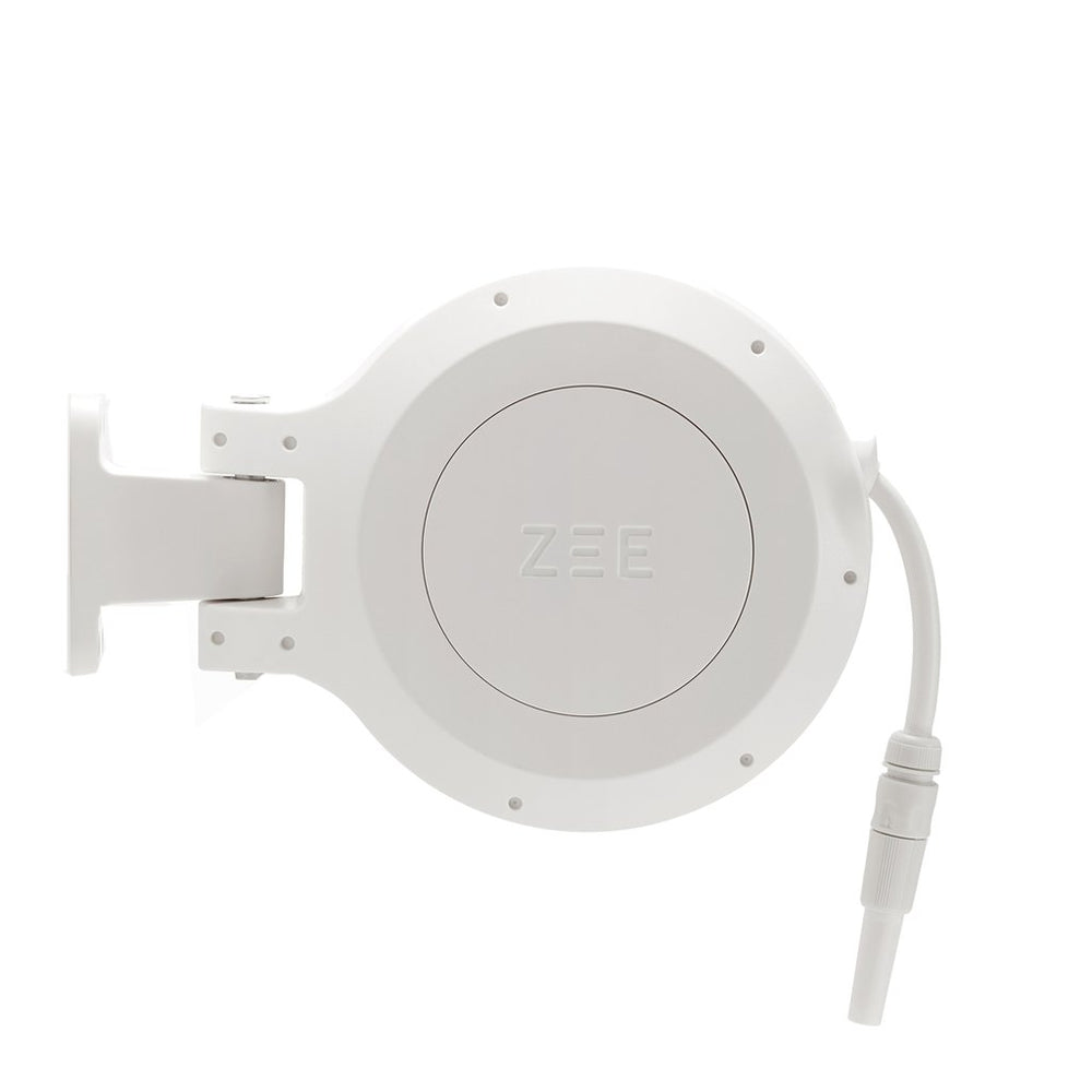 ZEE MIRTOON HOSE REEL 10M WHITE | Garden NZ | Zee Design | Outdoor Concepts NZ