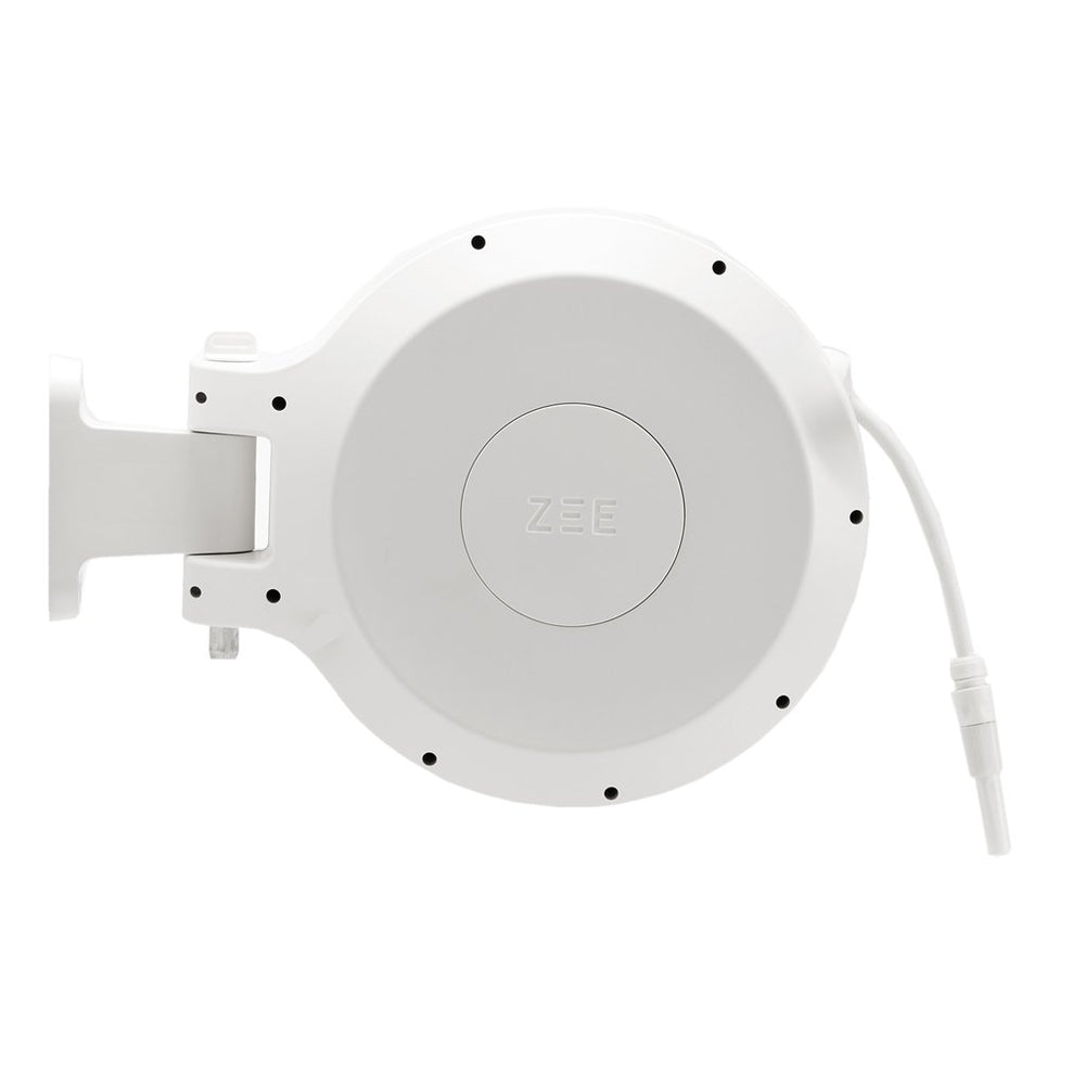 ZEE MIRTOON HOSE REEL 30M WHITE | Garden NZ | Zee Design | Outdoor Concepts NZ