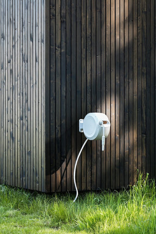 ZEE MIRTOON HOSE REEL 10M WHITE | Garden NZ | Zee Design NZ | Garden | Outdoor Concepts