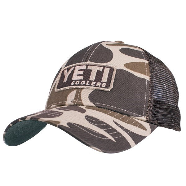 YETI CUSTOM CAMO HAT WITH PATCH | Other Products NZ | Yeti AU NZ | Apparel, Yeti | Outdoor Concepts