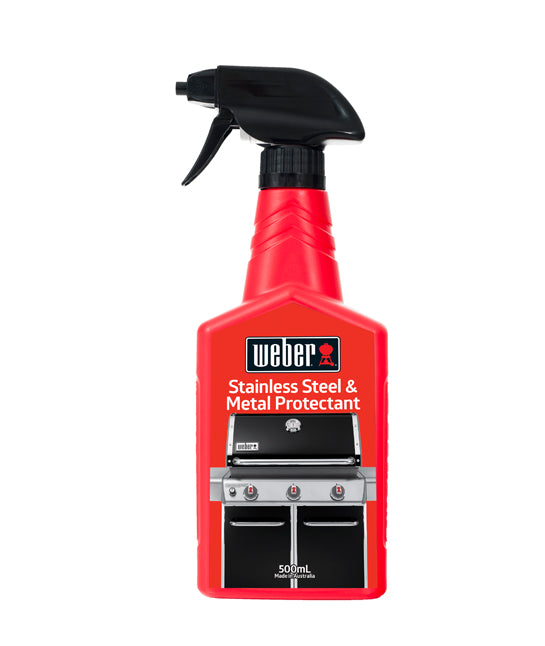 Weber Stainless Steel and Metal Protectant | BBQs NZ | Weber NZ | Accessories, cleaning | Outdoor Concepts