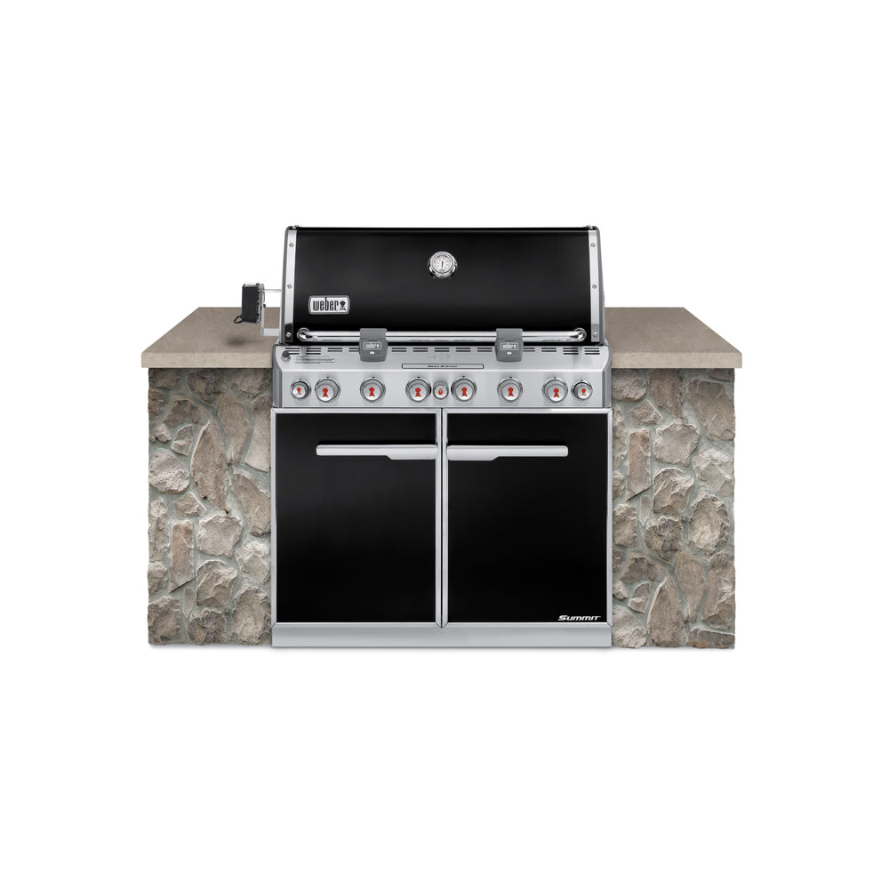 update alt-text with template WEBER SUMMIT E-660 BUILT-IN | BBQs NZ | Weber NZ | Built-in BBQs, Gas BBQ, Outdoor Kitchen | Outdoor Concepts NZ