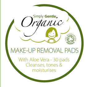 Simply Gentle Organic Make up Removal Pads