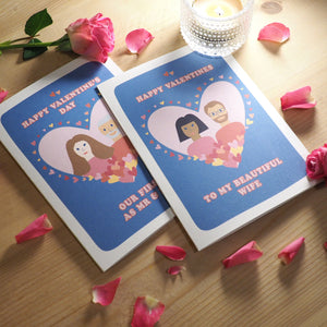 Personalised Valentine's Day or Anniversary Card