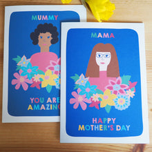 Mother's Day Personalised Portrait Card