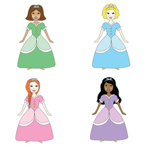 Princess Personalised Birthday Party Invitations - personalised cards and invitations by superfumi