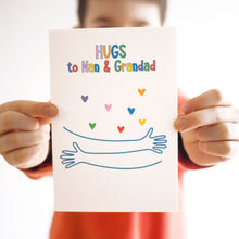 Rainbow Virtual Hug Personalised Charity Card