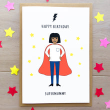 Mother's Day Personalised Superwoman Card