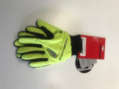 Long power gloves black / yellow XL