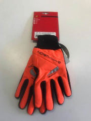 Long Power gloves black / orange M