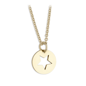 Sterling Silver Yellow Star Pendant | G by Glenda Gilson