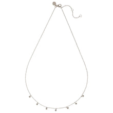"LONDON – Sterling Silver ""London"" Necklace with Silver Ball Drop Charms"