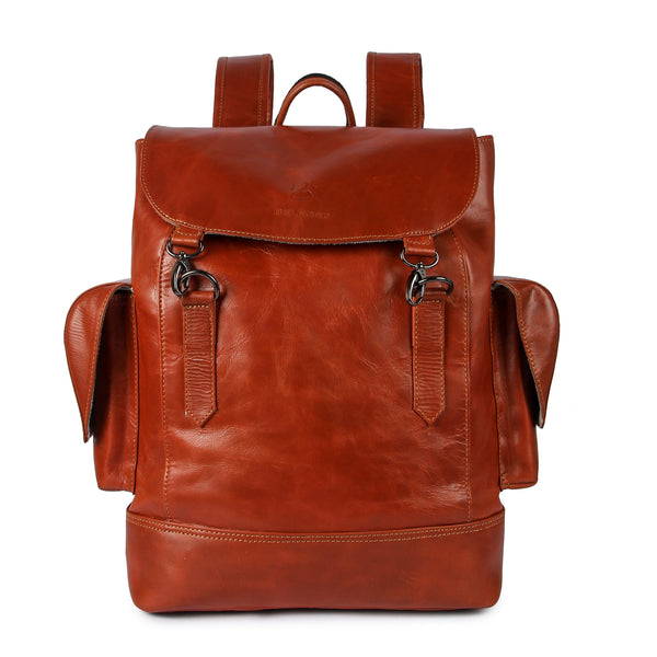 Genuine Leather Backpack 15 inch Laptop Backpack Large Capacity Business Travel Office Daypacks