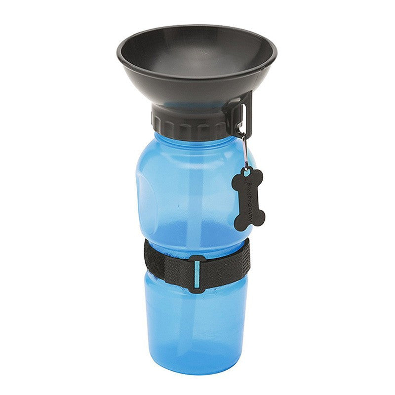 Pet Dog Out Drinking Water Cup