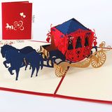 3D Pop-Up Paper Cut Greeting Cards and Gift Cards