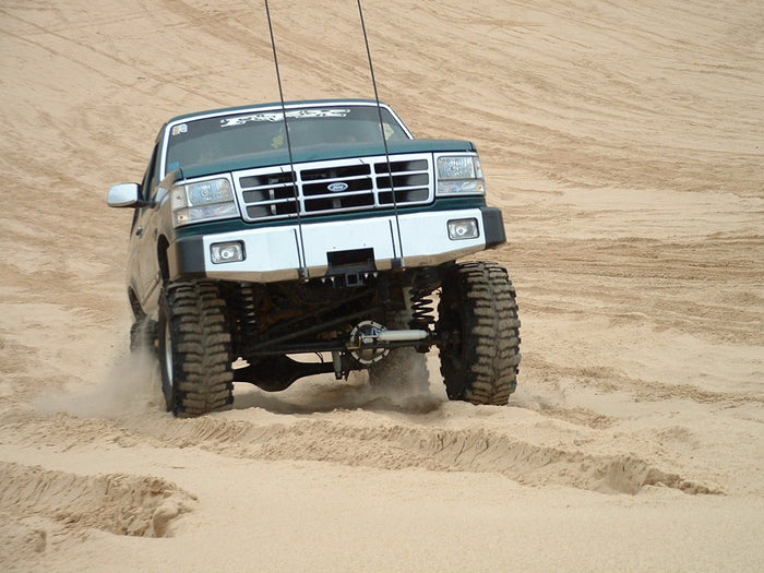 Your 4WD Tyres upon Driving Through Sand
