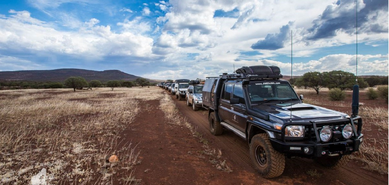 Australia's 4WD Tag-Along Tours