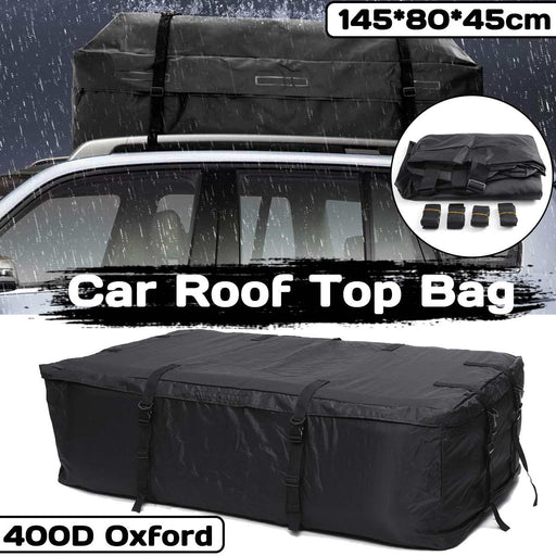 Waterproof Car Roof Top Carrier Cargo Luggage Travel Bag Storage Bag For Vehicles With Roof Rails
