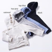 Load image into Gallery viewer, HÄP & CRAFT | Smile Cotton Fleece-lined Hoodie