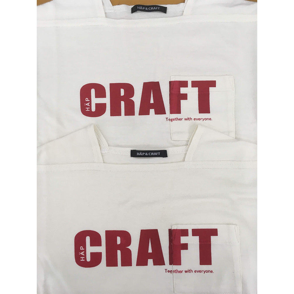 HÄP & CRAFT | Print Smile Cotton Smooth T-shirt Limited Edition