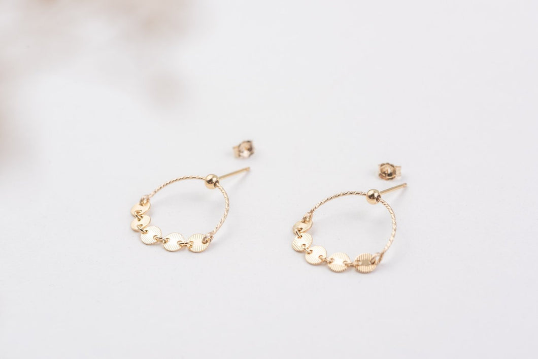 ZOAJE | Italy Earrings (Gold)
