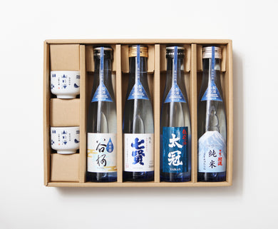 CEMENT PRODUCE DESIGN LTD. | Yamano Sake | 4 Bottles