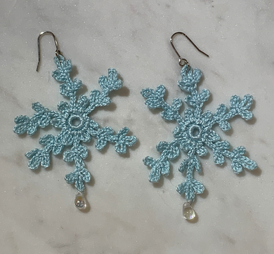 SHOKAY | Earrings | Light Blue