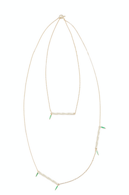 GINYU | Bamboo Groove Necklace