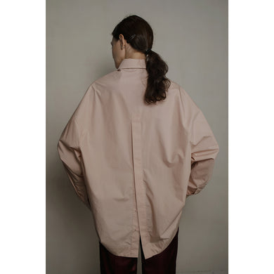 FORME DE FLUIDITÉ | Agnes open back cotton shirt