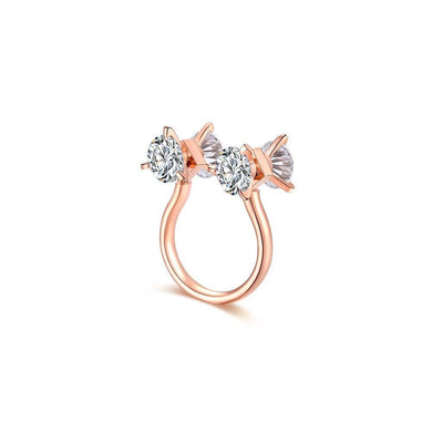 OOPS JEWELRY | 2 My Love Ring | Rose Gold