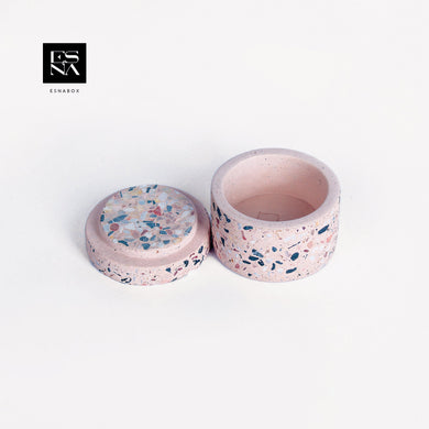 ESNA BOX | CONCRETE BOX PINK COLOR | IN023
