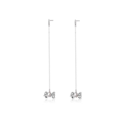 OOPS JEWELRY | 2 My Love Earrings - Long | Silver