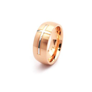 EJJ JEWELLERY | Ring | God Loves Us | Rose Gold