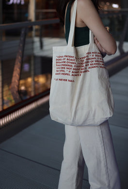 VM | Shopping Bag Cotton | SONGS of the Love