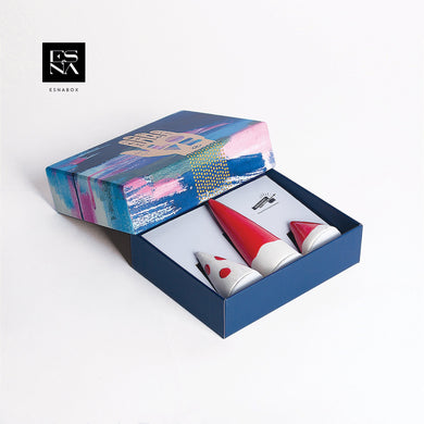 ESNA BOX | Ring Holder (Red)