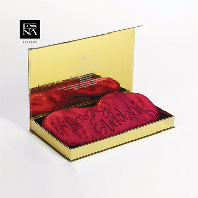 ESNA BOX | Eye Mask (red)