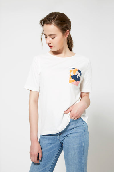 SHOKAY  | Women's Cotton T-Shirt  | AW-TS-XY_AL